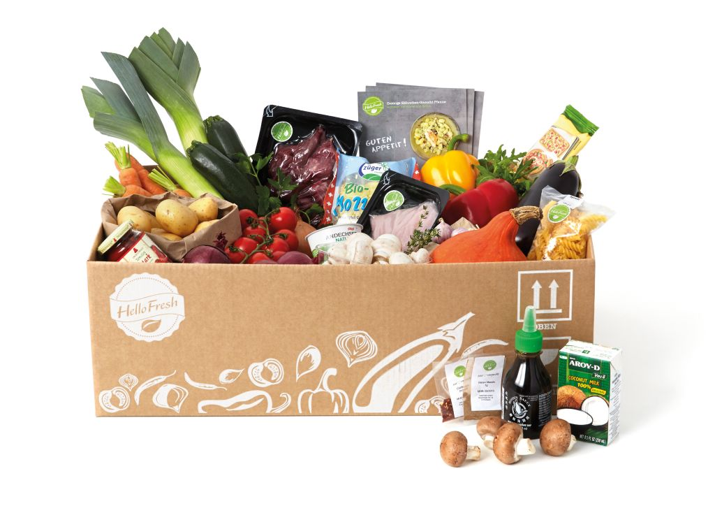 HelloFresh Box Classic (c) HelloFresh 2013