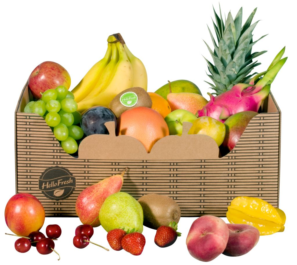 HelloFresh FruitBox (c) HelloFresh 2013