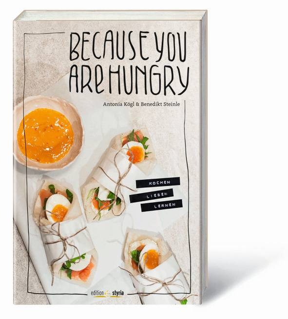 Cover Kochen lieben lernen - Because you are hungry