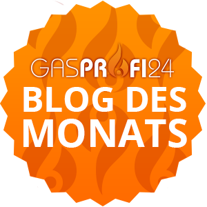 GasProfi24 Blog des Monats Badge - GasProfi24 Blog