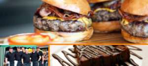 Rezept Burger-Menü mit gegrillter Avocado, Beef Cheese Nachos, Chicken Wings und Double Fudge Brownies - GasProfi24 Blog